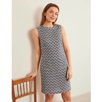 Natalia Linen Dress Navy Women Boden, Navy
