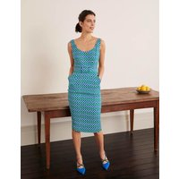 May Textured Dress Green Women Boden, Green
