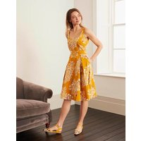Winifred Dress Yellow Women Boden, Yellow