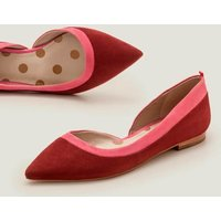 Sophia Pointed Flats Brown Women Boden, Camel