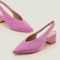 Lena Slingback Heels Purple Women Boden, Purple