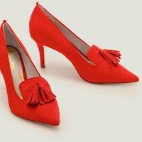 Leah Mid Heels Red Women Boden, Navy