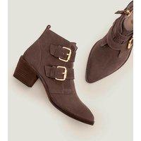 Aberdeen Ankle Boots Grey Women Boden, Black