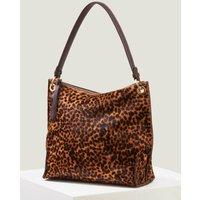 Portia Shoulder Bag Brown Women Boden, Leopard