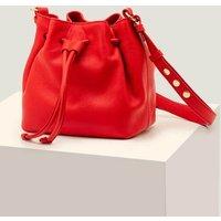 Mini Octavia Drawstring Bag Red Women Boden, Navy