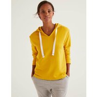 Boden Jersey Lounge Hoodie Yellow Women Boden, Orange