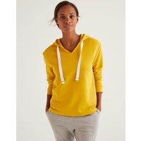 Jersey Lounge Hoodie Yellow Women Boden, Orange