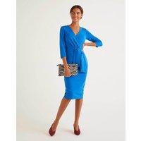 Sophie Ponte Dress Bold Blue Women Boden, Bold Blue