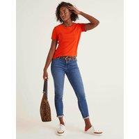 Supersoft Short Sleeve Tee Orange Women Boden, Orange