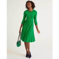 Lorna Knitted Dress Green Women Boden, Green