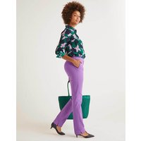 Richmond Trousers Purple Women Boden, Purple