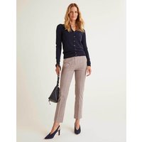 Richmond 7/8 Trousers Check Print Women Boden, Check Print