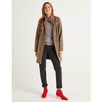 Hengrave Coat Leopard Women Boden, Leopard