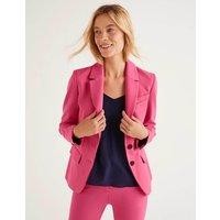 Smyth Ponte Blazer Pink Women Boden, Camel