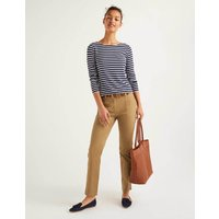 Salcombe Cargo Trousers Brown Women Boden, Brown