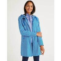 Lawrence Waterproof Raincoat Blue Women Boden, Blue