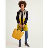 Lawrence Waterproof Raincoat Yellow Women Boden, Yellow