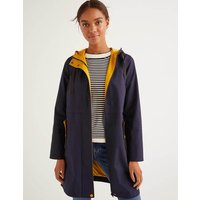 Lawrence Waterproof Raincoat Navy Women Boden, Navy