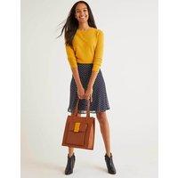 Astolat Mini Skirt Navy Women Boden, Navy