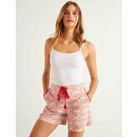 Boden Phoebe PJ Shorts Pink Women Boden, Pink