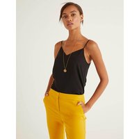 Silk Cami Black Women Boden, Black