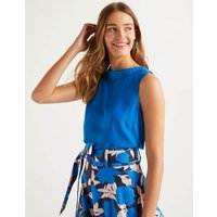 Adriana Top Blue Women Boden, Blue