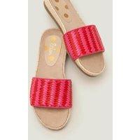 Imogen Footbed Slides Pink Women Boden, Pink