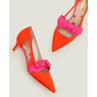 Boden Mollie Kitten Heels Orange Women Boden, Orange