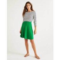 Edie Jersey Skirt Green Women Boden, Green