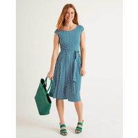 Esmeralda Jersey Dress Green Women Boden, Green