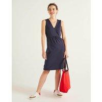 Eden Jersey Dress Navy Women Boden, Navy
