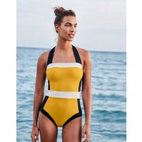 Boden Santorini Swimsuit Yellow Women Boden, yellow