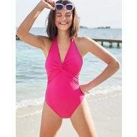 Campania Twist Swimsuit Pink Women Boden, Pink