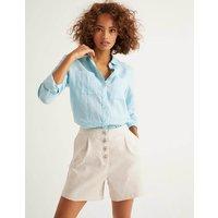 Bamburgh Shorts Brown Women Boden, Brown