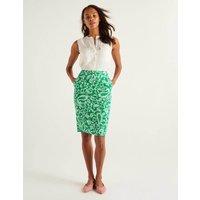 Gabriella Pencil Skirt Rich Emerald, Spotty Paisley Women Boden, Rich Emerald, Spotty Paisley