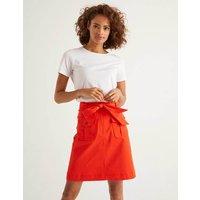 Cecily Skirt Orange Women Boden, Orange