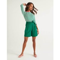Berwick Shorts Green Women Boden, Green