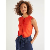 Petronella Top Orange Women Boden, Orange