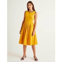 Maddie Dress Yellow Women Boden, Yellow
