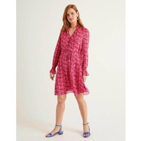 Evangeline Dress Pink Women Boden, Camel