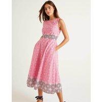 Deborah Dress Pink Women Boden, Pink