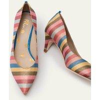Clara Heels Multi Stripe Women Boden, Multicouloured