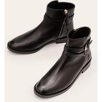 Aldeburgh Ankle Boots Black Women Boden, Black