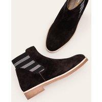 Boden Burford Chelsea Boots Black Christmas Boden, Black