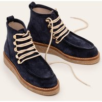 Gowrie Ankle Boots Navy Christmas Boden, Navy
