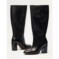Chichester Knee High Boots Black Christmas Boden, Black