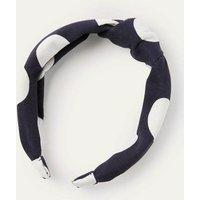 Knotted Headband Navy Women Boden, Navy