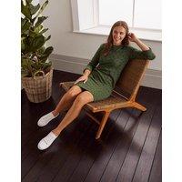 Boden Hannah Sweatshirt Dress Green Women Boden, Red
