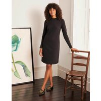 Henrietta Ottoman Dress Black Women Boden, Black