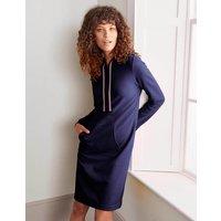Boden Oriel Sweatshirt Dress Navy Women Boden, Navy